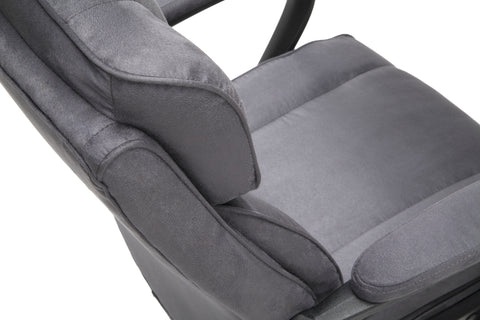 Essentials by OFM ESS-3081 Plush High-Back Microfiber Office Chair, Gray ; UPC: 845123095263 ; Image 8