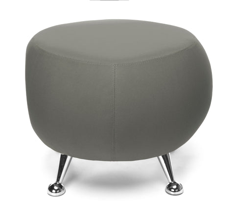 OFM Jupiter Series Fabric Ball Stool, in Gray (2001-2315) ; UPC: 845123053331 ; Image 2