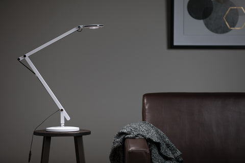 OFM 4020-WHT LED Desk Lamp with 3-in-1 Desk, Clamp, and Wall Mount, White ; UPC: 192767000819 ; Image 12