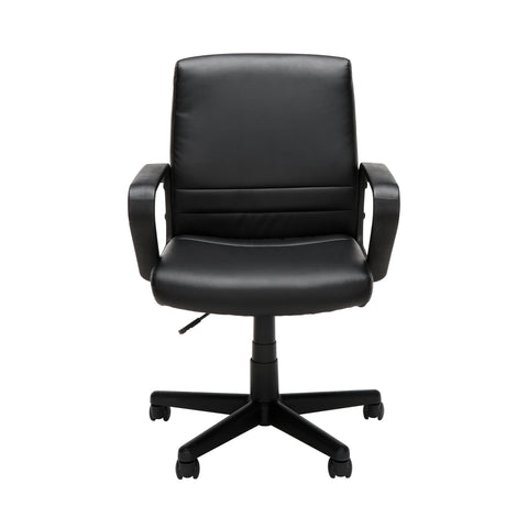 Essentials by OFM E1008 Mid Back Executive Chair, Black ; UPC: 845123032428 ; Image 2