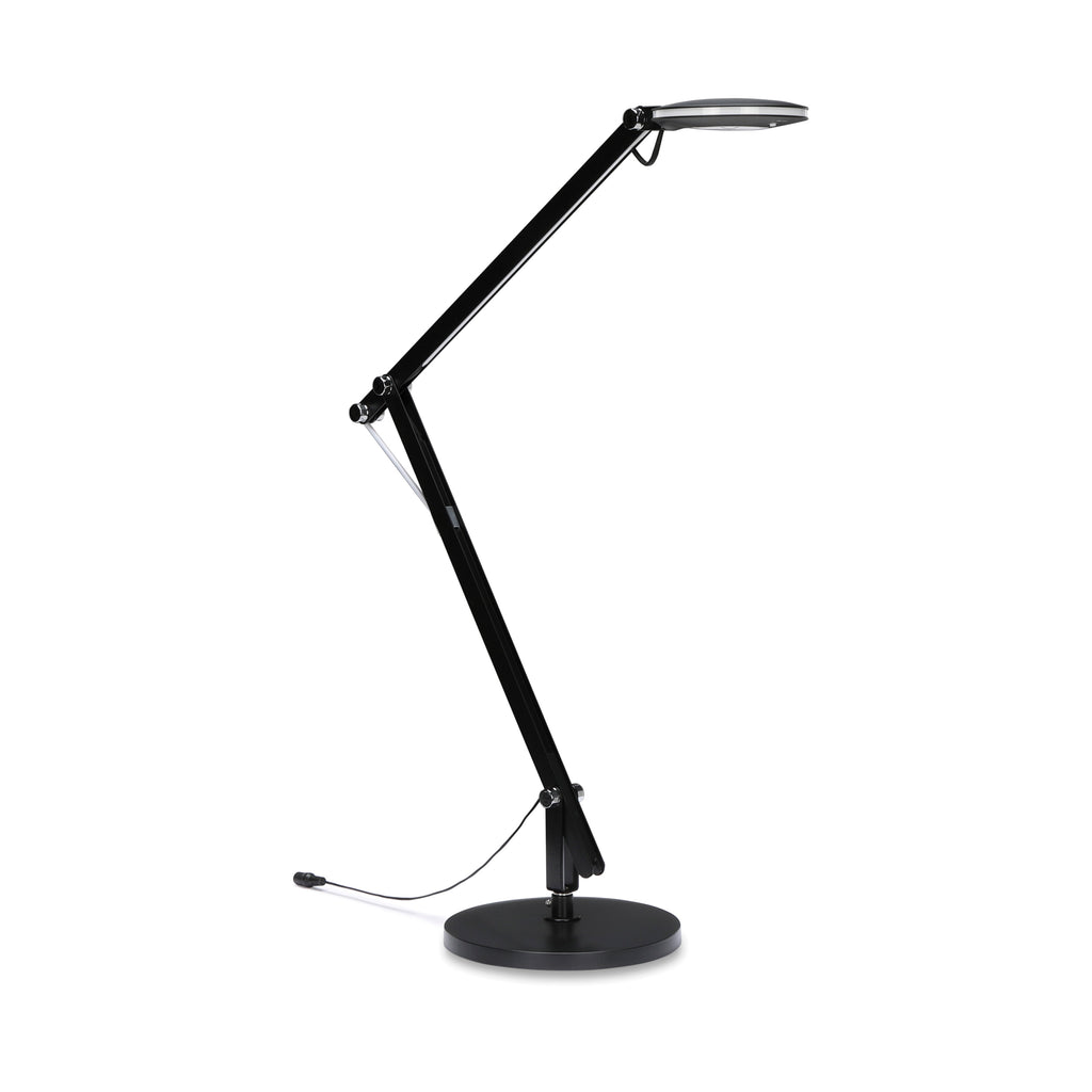 OFM 4020-BLK LED Desk Lamp with 3-in-1 Desk, Clamp and Wall Mount, Black ; UPC: 192767000802 ; Image 1
