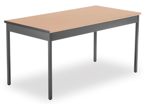 "OFM Model UT3060 30"" x 60"" Multi-Purpose Utility Table, Maple ; UPC: 811588011742 ; Image 1"