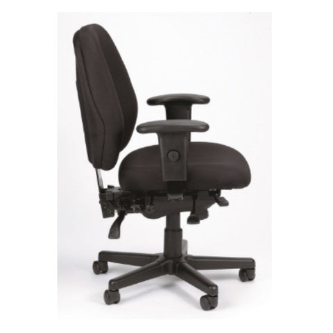 Eurotech 4 x4  Ergonomic Task Chair in Charcoal