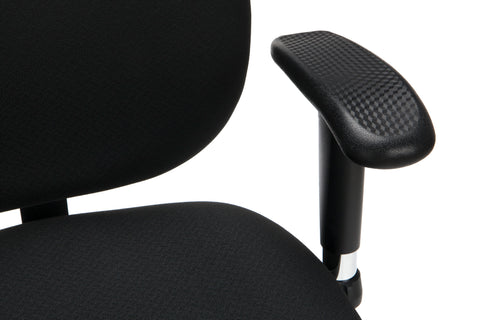 OFM 24 Hour Big and Tall Ergonomic Task Chair - Computer Desk Swivel Chair with Arms, Black (247) ; UPC: 845123031377 ; Image 7