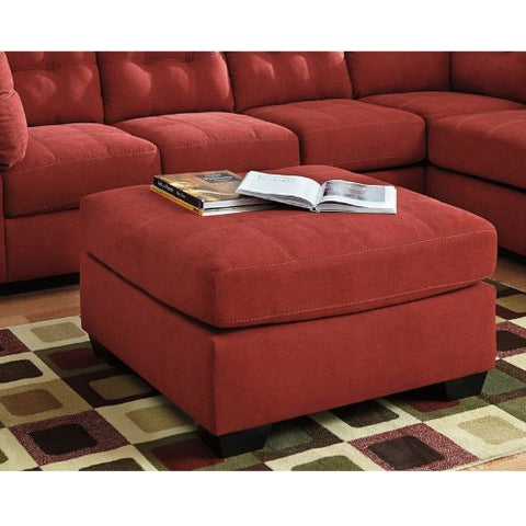 Flash Furniture Benchcraft Maier Oversized Accent Ottoman in Sienna Microfiber FBC2349OTTSENGG ; Image 2 ; UPC 889142016670