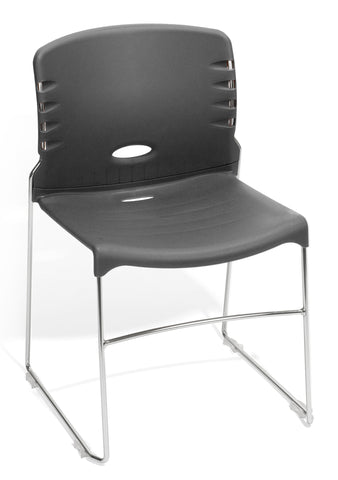 OFM 320-P07 Stack Chair with Plastic Seat and Back ; UPC: 811588014125 ; Image 1