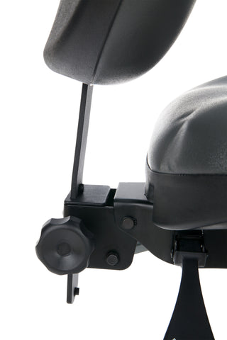 OFM Model 247-VAM 24 Hour Big and Tall Ergonomic Computer Swivel Task Chair with Arms, Anti-Microbial/Anti-Bacterial Vinyl, Charcoal ; UPC: 811588013036 ; Image 9