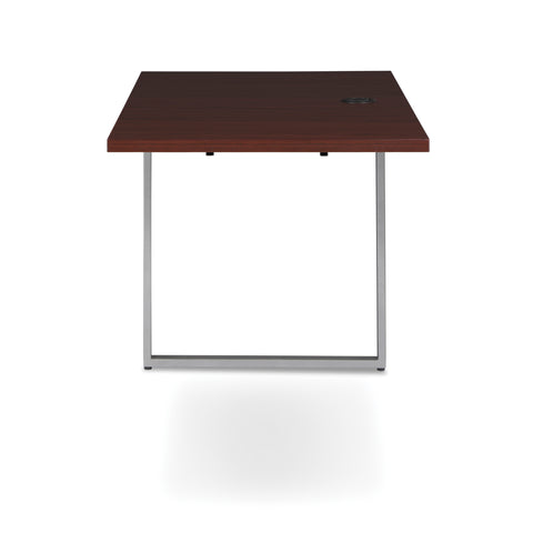 OFM Fulcrum Series 48x24 Return Desk, Office Desk Return, Mahogany (CL-R4824-MHG) ; UPC: 845123097373 ; Image 5