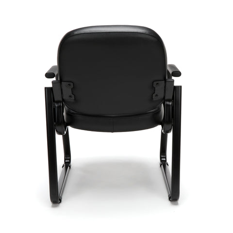 OFM Model 403-VAM Guest and Reception Chair with Arms, Anti-Microbial/Anti-Bacterial Vinyl, Black ; UPC: 811588014224 ; Image 3