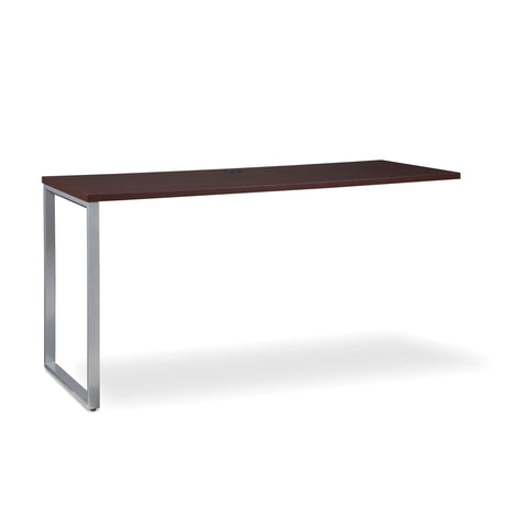 OFM Fulcrum Series 60x24 Credenza Desk, Desk Shell for Office, Mahogany (CL-C6024-MHG) ; UPC: 845123097335 ; Image 1