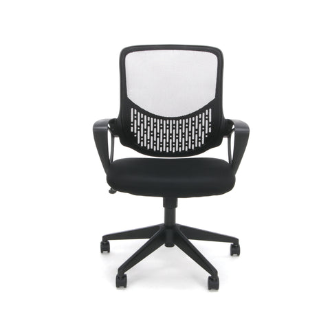 Essentials by OFM ESS-100 Mesh Back Task Chair, Black ; UPC: 845123080078 ; Image 2