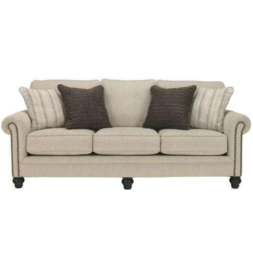 Flash Furniture Signature Design by Ashley Milari Sofa in Linen FSD1309SOLINGG ; Image 1 ; UPC 889142085621