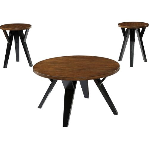 Flash Furniture Signature Design by Ashley Ingel 3 Piece Occasional Table Set FSDTS347TTBGG ; Image 2 ; UPC 889142086321