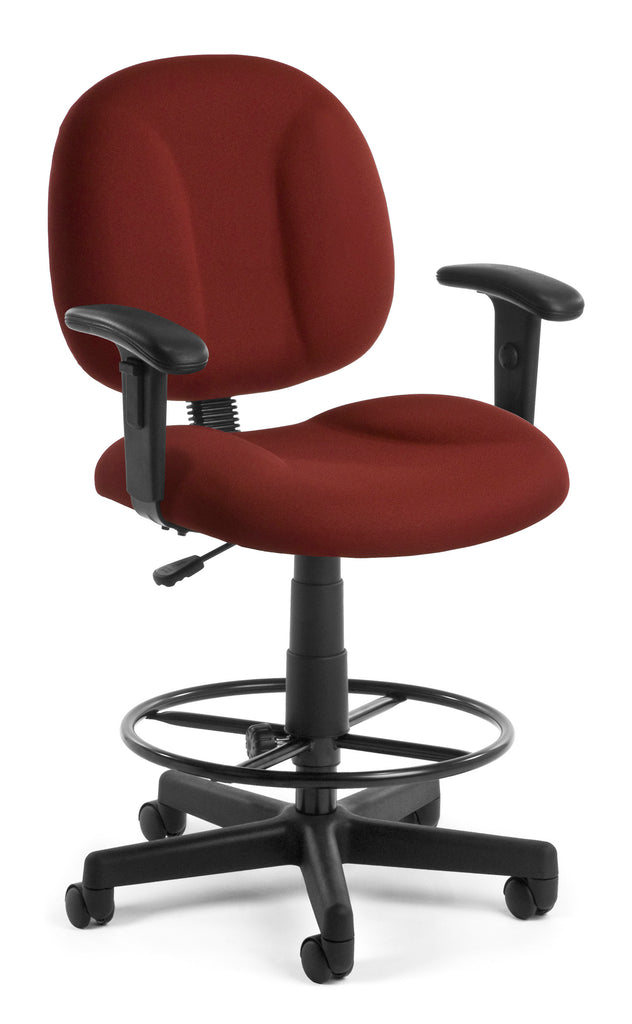 OFM 105-AA-DK-803 Comfort Series Super chair with Arms and Drafting Kit ; UPC: 845123011010 ; Image 1