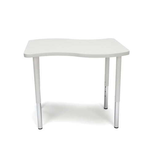 "OFM Adapt Series Small Wave Standard Table - 23-31"" Height Adjustable Desk, Gray Nebula (WAVE-S-LL) ; UPC: 845123097045 ; Image 3"