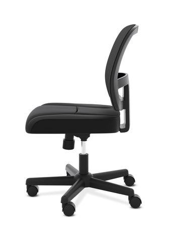 HON ValuTask Task Chair, Mesh Back Computer Chair for Office Desk, Black (HVL205) ; UPC: 089191179368 ; Image 5