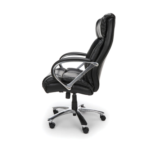 OFM  810-LX Big and Tall Executive High Back Chair, Leather, Black ; UPC: 845123031773 ; Image 5