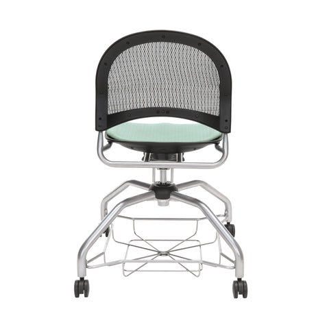 OFM Moon Foresee Series Chair with Removable Fabric Seat Cushion - Student Chair, Sage Green (339) ; UPC: 845123094419 ; Image 3