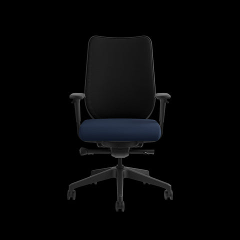 HON Nucleus Task Chair with Mesh Back, in Navy (HN1) ; UPC: 752856008142 ; Image 2