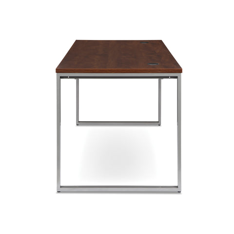 OFM Fulcrum Series 66x30 Desk, Minimalistic Modern Office Desk, Cherry (CL-D6630-CHY) ; UPC: 845123097182 ; Image 5