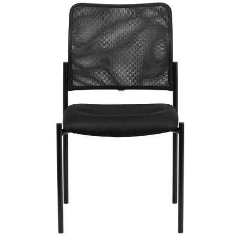 Flash Furniture Comfort Black Mesh Stackable Steel Side Chair GO5152GG ; Image 4 ; UPC 889142011712