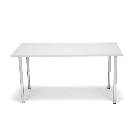 OFM Adapt Series Rectangle Standard Table - 23-31? Height Adjustable Desk, Gray Nebula (RECT-LL) ; UPC: 845123096031 ; Image 3