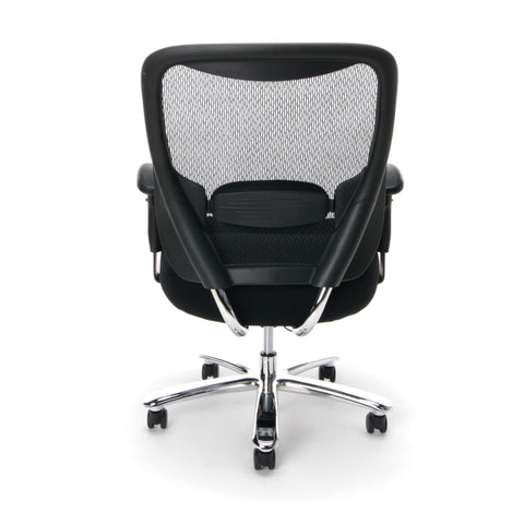 Essentials by OFM ESS-200 Big and Tall Swivel Mesh Office Chair with Arms, Black/Chrome ; UPC: 845123080115 ; Image 3