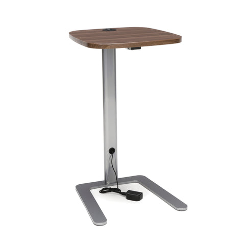 OFM Model ACCTAB Accent Table with USB Grommet, Walnut ; UPC: 845123093252 ; Image 1