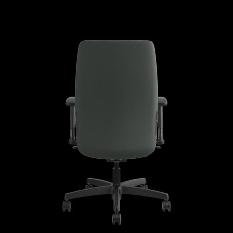 HON Endorse Mid-Back Task Chair with Lumbar Support, in Iron Ore (HLWU) ; UPC: 889218155166 ; Image 3