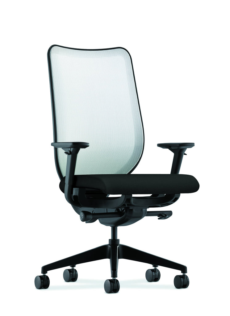HON Nucleus Task Chair with Mesh Back, in Black (HN1) ; UPC: 641128745611 ; Image 1