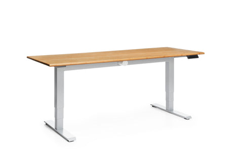 "OFM Versa Series Model HAT-3060 60"" Height Adjustable Table, Amber ; UPC: 845123053928 ; Image 1"