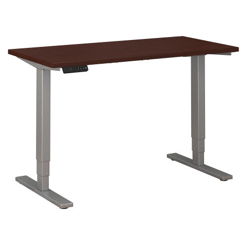 Bush Move 80 Series 48W x 24D Height Adjustable Standing Desk, Harvest Cherry HAT4824CSK ; UPC: 042976060053 ; Image 1