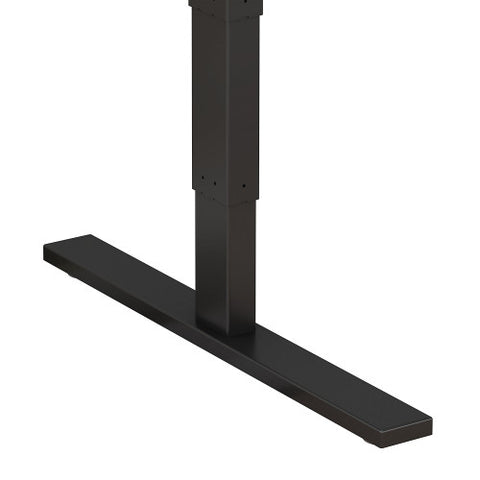 Bush Move 80 Series 48W x 24D Height Adjustable Standing Desk, Hansen Cherry HAT4824HCBK ; UPC: 042976017811 ; Image 4