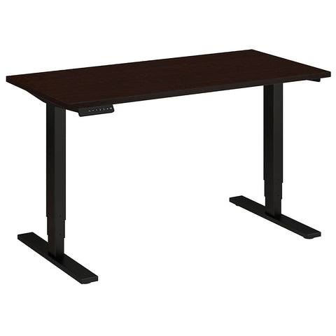 Bush Move 80 Series 48W x 24D Height Adjustable Standing Desk, Mocha Cherry HAT4824MRBK ; UPC: 042976017859 ; Image 5