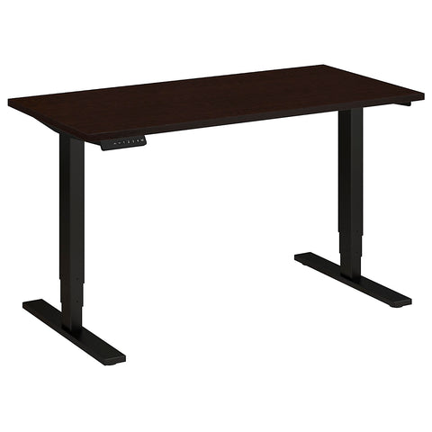 Bush Move 80 Series 48W x 24D Height Adjustable Standing Desk, Mocha Cherry Satin HAT4824MRSBK ; UPC: 042976017835 ; Image 5