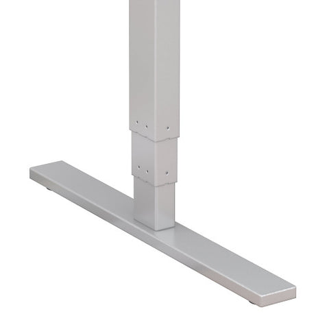 Bush Move 80 Series 48W x 24D Height Adjustable Standing Desk, White HAT4824WHK ; UPC: 042976013837 ; Image 4