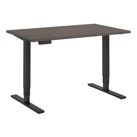 Bush Move 80 Series 48W x 30D Height Adjustable Standing Desk, Cocoa HAT4830COBK ; UPC: 042976075019 ; Image 1