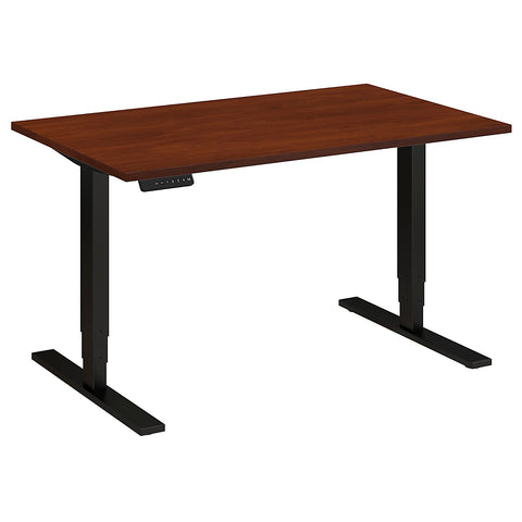 Bush Move 80 Series 48W x 30D Height Adjustable Standing Desk, Hansen Cherry HAT4830HCBK ; UPC: 042976013899 ; Image 5