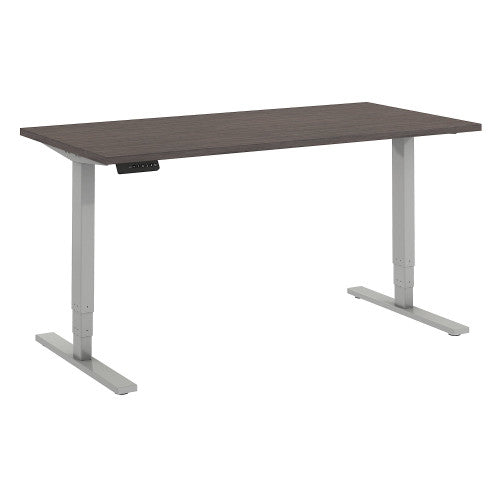 Bush Move 80 Series 60W x 30D Height Adjustable Standing Desk, Cocoa HAT6030COK ; UPC: 042976074999 ; Image 1
