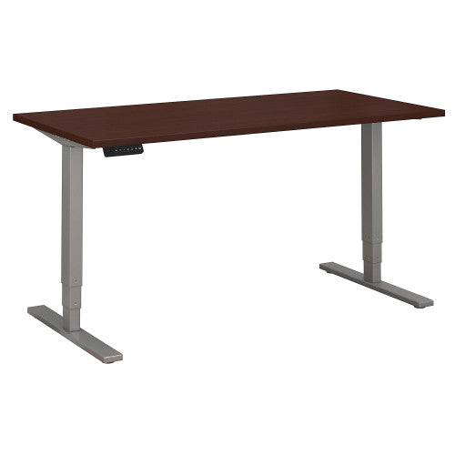 Bush Move 80 Series 60W x 30D Height Adjustable Standing Desk, Harvest Cherry HAT6030CSK ; UPC: 042976060183 ; Image 1