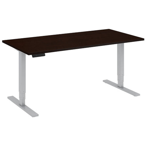 Bush Move 80 Series 60W x 30D Height Adjustable Standing Desk, Mocha Cherry Satin HAT6030MRSK ; UPC: 042976014407 ; Image 1