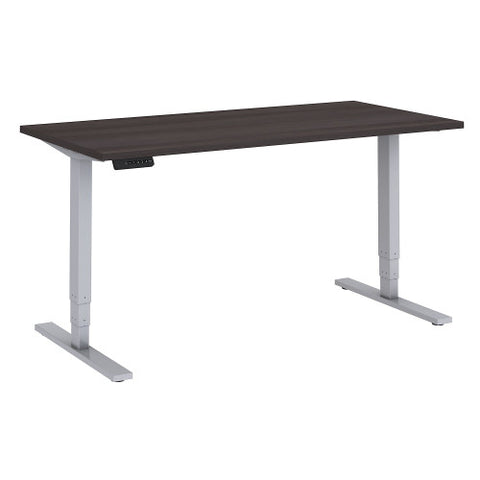 Bush Move 80 Series 60W x 30D Height Adjustable Standing Desk, Storm Gray HAT6030SGK ; UPC: 042976074098 ; Image 1