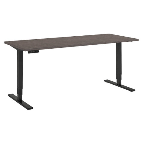 Bush Move 80 Series 72W x 30D Height Adjustable Standing Desk, Cocoa HAT7230COBK ; UPC: 042976074937 ; Image 1