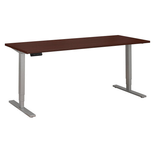 Bush Move 80 Series 72W x 30D Height Adjustable Standing Desk, Harvest Cherry HAT7230CSK ; UPC: 042976060237 ; Image 1