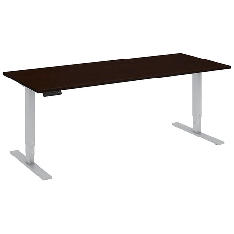 Bush Move 80 Series 72W x 30D Height Adjustable Standing Desk, Mocha Cherry Satin HAT7230MRSK ; UPC: 042976014537 ; Image 5