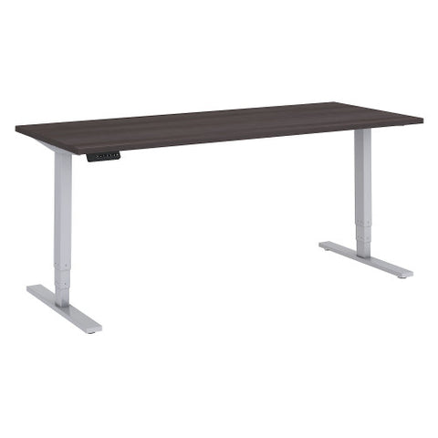 Bush Move 80 Series 72W x 30D Height Adjustable Standing Desk, Storm Gray HAT7230SGK ; UPC: 042976074043 ; Image 1
