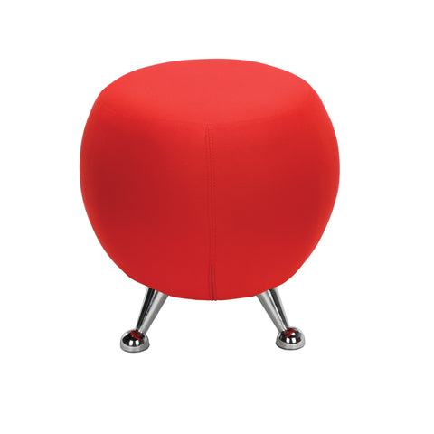 OFM Jupiter Series Fabric Ball Stool, in Red (2001-2312) ; UPC: 845123053324 ; Image 5