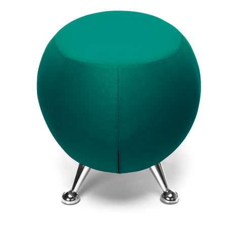 OFM Jupiter Series Fabric Ball Stool, in Green (2001-2331) ; UPC: 845123053355 ; Image 4