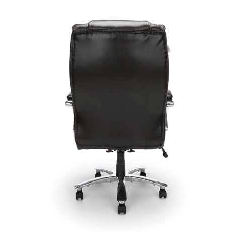 OFM  810-LX Big and Tall Executive High Back Chair, Leather, Brown ; UPC: 845123051849 ; Image 3