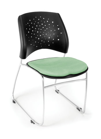 OFM 325-2207 Stars Stack Chair with Fabric Seat ; UPC: 845123004418 ; Image 1
